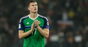 Michael O'Neill claims the FAI targeted former Manchester United defender Paddy McNair in the mistaken belief that he was a Catholic. Photograph: Getty Images