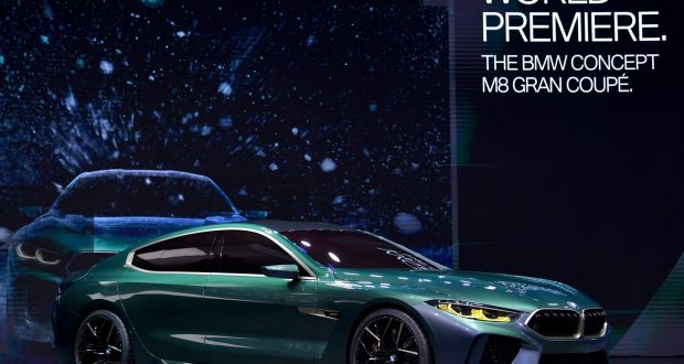 Geneva Bmw Wows With 8 Series Gran Coupe Concept While Subaru