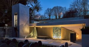 Since her death the tomb of Nano Nagle herself is a pilgrim site, and its new shrine-like location is enhanced by the sculptural glass wall from Eoin Turner.