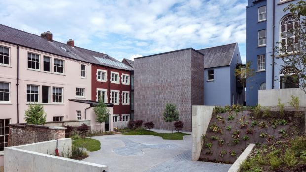 Arrival Courtyard: the 4-acre site and its variety of linked premises are the fulfilment of a €10.5 million project funded by the Presentation congregation in 2014