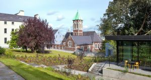 Garden view: the 4-acre site and its variety of linked premises are the fulfilment of a €10.5 million project funded by the Presentation congregation in 2014