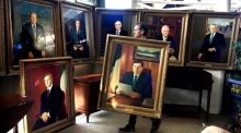 Set of portraits of all 13 former taoisigh go to auction for €30k to €40k