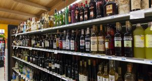 The Bill provides for detailed health warnings on labels including links to cancer and measures to segregate alcohol from other products in shops. Photograph: iStock