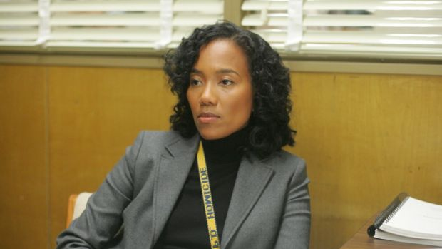 Shakima 'Kima' Greggs, played by Sonja Sohn. Photograph: HBO