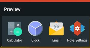 Nova Launcher is one of, if not, the most customisable Android launchers on the market