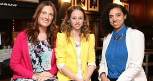 GirlCrew founders Pamela Newenham, Elva Carri and Áine Mulloy: the start-up plans to expand across the US