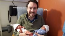 What's making you happy? Neighbourly snow clearing and brand new twins