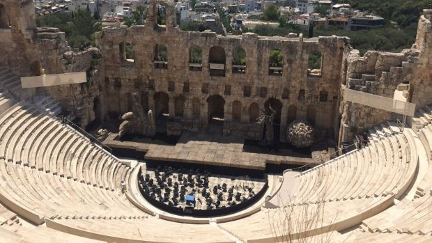 The Odeon of Herodes Atticus Theatre is a spectacular sight not to be missed