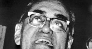 Photo taken on January 1st, 1979, of Salvadoran archbishop Óscar Romero in El Salvador. Photograph: AFP/Getty Images