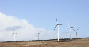 Greencoat UK Wind (UKW) which was the first renewable infrastructure fund to list on the London Stock Exchange main market. Photograph: iStock
