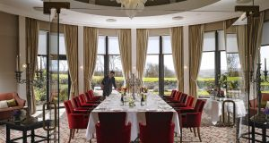La Fougère dining room at Knockranny House Hotel.