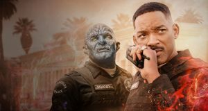 Joel Edgerton and Will Smith in 'Bright'. Photograph: Netflix