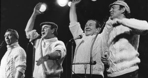 The Clancy Brothers and Tommy Makem in 1984. Photograph: Eddie Kelly