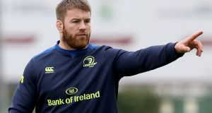 Sean O'Brien: has returned from injury and will captain Leinster against the Scarlets in Wales. Photograph: Oisín Keniry/Inpho