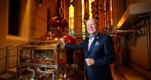 Pearse Lyons in his distillery in the Liberties. Photograph: Conor McCabe Photography