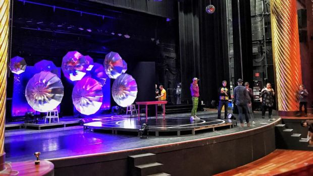 Riot in New York: building the set for Thisispopbaby's globetrotting cabaret show
