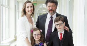 "Laura Colleran  and her family. ""After four years in Galway we are still in a state of transition, paying ridiculously high prices for car insurance and little advancement up the property ladder"""