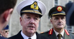 Chief of Staff of the Defence Forces Vice-Admiral Mark Mellett: 'We need more women in our Defence Forces not just for peacekeeping but for everything else'. File photograph: Cyril Byrne/The Irish Times