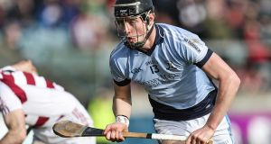 Conor Boylan: as it stands the Na Piarsaigh  man will miss the AIB All-Ireland Club SHC final against holders Cuala. Photograph: Laszlo Geczo/Inpho