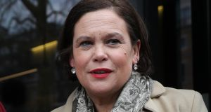 Sinn Féin president Mary Lou McDonald has already said her TDs will not be allowed a vote of conscience on abortion. Photograph: Daniel  Leal-Olivas/AFP/Getty Images