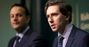The policy paper to be published by Simon Harris contains 21 clauses detailing how the legislation would take effect.  Photograph: Niall Carson/PA Wire