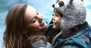 Brie Larson and Jacob Tremblay as the mother and son in Lenny Abrahamson's adaptation of Room by Emma Donoghue