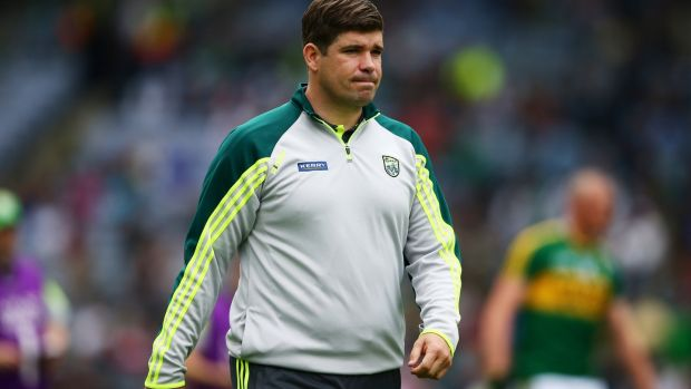 Eamon Fitzmaurice: has handed out 10 senior debuts in the first four games of the spring as he seeks to plot a Kerry resurgence that will end Dublin's dominance. Photograph: Cathal Noonan/Inpho