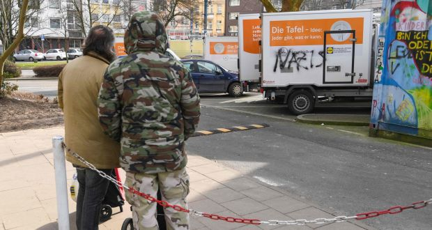 Food bank row exposes resource battle among German poor