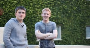 John  and Patrick Collison, co-founders of Stripe. The company is valued at $9.2 billion