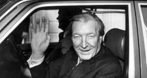 "Charles Haughey in 1987. ""He was really into his food; almost fanatical about it,"" said Oireachtas chef Julie Lyons. Photograph: Matt Kavanagh"
