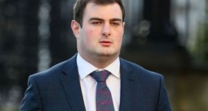 Rory Harrison is accused of attempting to cover up the alleged rape of a woman. Photograph: Brian Lawless/PA