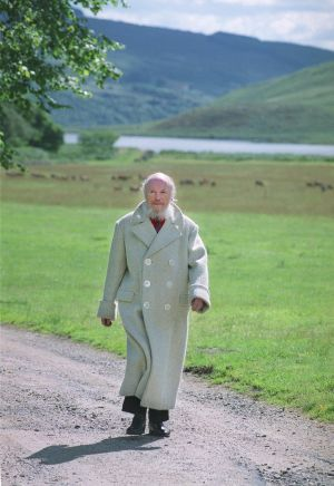 1999 - Garech Brown - Photographed at Luggala  Photograph: Joe St Leger / THE IRISH TIMES