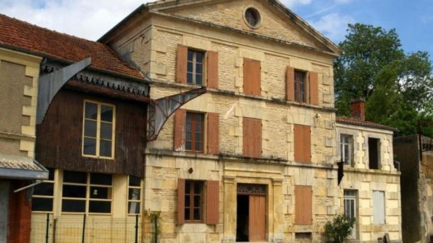 This former 14th-century flour mill in Poitou Charentes, France needs renovating