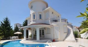 This two-bedroom villa in  Antalya, Turkey, has its own pool
