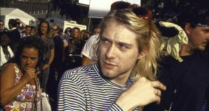 "Nirvana singer Kurt Cobain. ""In pop culture terms, what was interesting about the 1990s was how subculture and edginess became completely mainstreamed."" Photograph: Time Life Pictures/DMI/Getty Images"