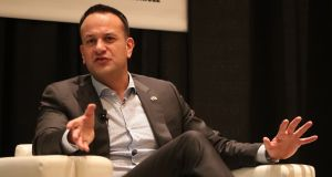 Taoiseach Leo Varadkar at the SXSW festival in Austin, Texas, at the beginning of his week-long visit to the United States of America. Photograph: Niall Carson/PA Wire