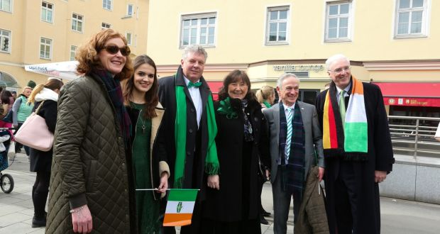 6777d6121c1 Munich St Patrick s parade grand marshal Ann Dempsey