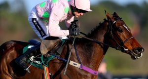 Ruby Walsh will partner Douvan in Wednesday's  Champion Chase. Photograph: James Crombie/Inpho