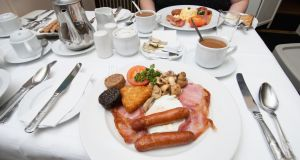 The Irish B&B: 'They want a superb breakfast that they see me cooking in the kitchen beside them.' Photograph: Getty Images/Perspectives