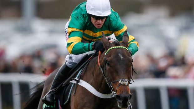 Barry Geraghty is expected to partner Buveur D'Air to Champion Hurdle victory. Photograph: Alan Crowhurst/Getty