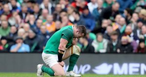 Cian Healy is set to be fit for Ireland's trip to Twickenham. Photograph: Dan Sheridan/Inpho