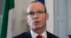 Tánaiste and Minister for Foreign Affairs Simon Coveney: 'In truth, there is no way we are going to have a detailed free trade agreement negotiated before Britain leaves the European Union'. Photograph: Gareth Chaney Collins