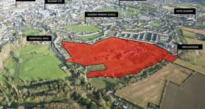 Land for sale around Robertshill, which is 2km west of Kilkenny city