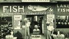The semantics of the everyday: fish shop photographed by Walker Evans