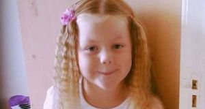 Kayla Carey (6) from Navan, Co Meath, died from suspected meningococcal meningitis last week. Image: Rip.ie