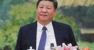 Chinese President Xi Jinping: State media is claiming credit for Beijing in helping to bring about the easing of tensions between Washington and Pyongyang. Photograph: Etienne Oliveau/Reuters