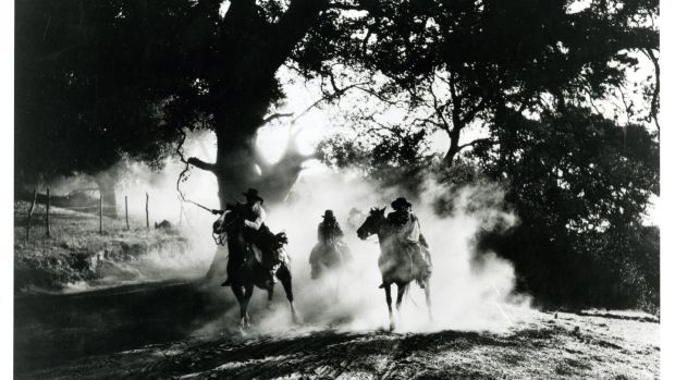 Filming of 'The Four Horsemen of the Apocalypse' involved 12,000 people.