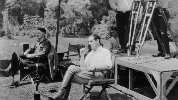 Irish-born actor, director and screenwriter Rex Ingram between shooting 'Mare Nostrum' in 1925. Photograph: John Kobal Foundation/Getty Images
