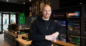 Darragh Fanning, general manger of Zambrero Ireland. He says the plan is to open 45 outlets across Ireland over 15 years. Photograph: Tom Honan.