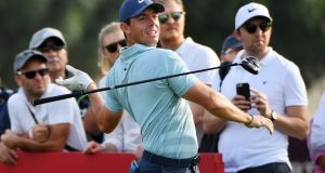 Rory McIlroy: will be hoping to bounce back to form in the Arnold Palmer Invitational at Bay Hill. Photograph:  Ross Kinnaird/Getty Images